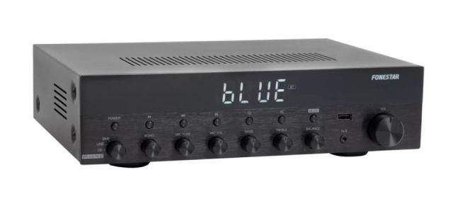 AMPLIFICADOR ESTÈREO Hi-Fi BT/USB/RADIO 30+30W RMS