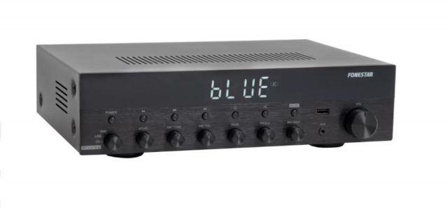 AMPLIFICADOR ESTÈREO Hi-Fi BT/USB/RADIO 60+60W RMS
