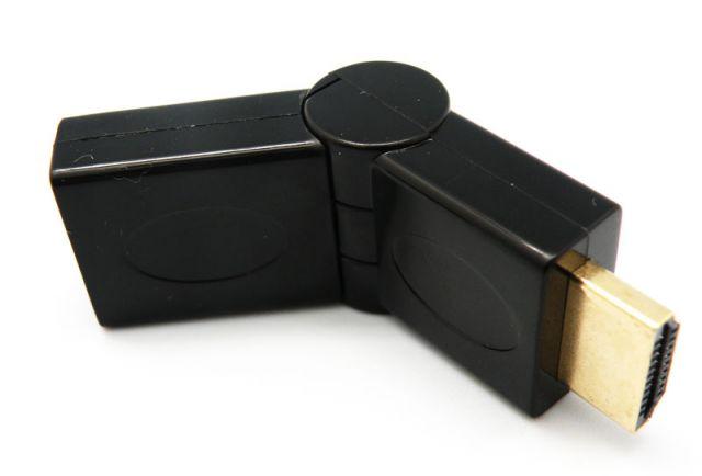 ADAPTADOR HDMI MASCLE A HDMI FEMELLA ARTICULAT