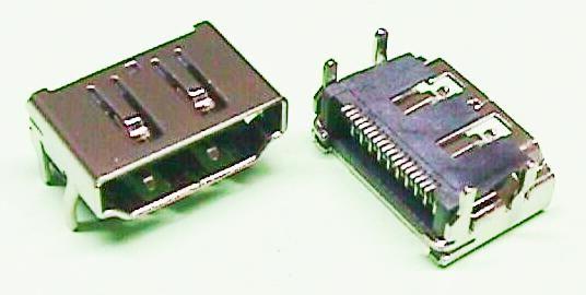 CONNECTOR HDMI FEMELLA PER CIRCUIT IMPRES (PS4)