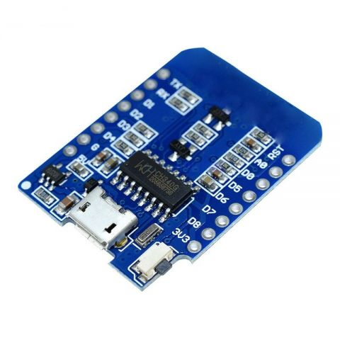 PLACA ESP8266 ESP-12 USB WEMOS D1 MINI WIFI 3.3V