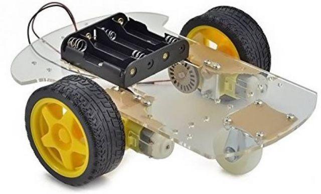 KIT XASSIS COTXE 2WD AMB ENCODERS I MOTORS