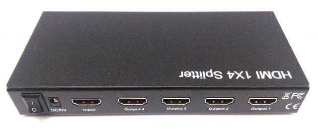SPLITTER HDMI 1 ENTRADA - 4 SORTIDES