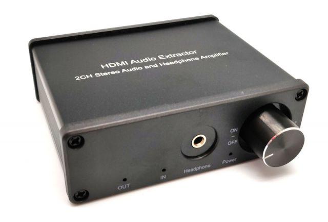 EXTRACTOR D'ÀUDIO HDMI 2 SORTIDES (3.5ST+RCA)
