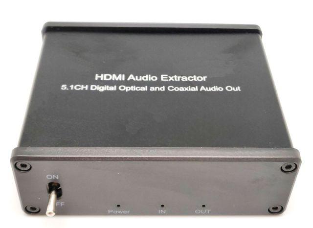EXTRACTOR ÀUDIO HDMI 5.1CH COAXIAL DIG. I TOSLINK