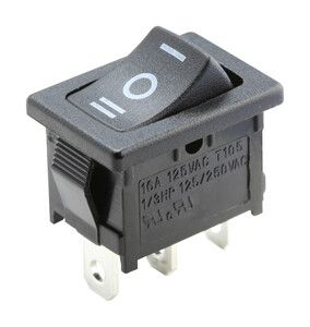INTERRUPTOR BASCULANT ON-OFF-ON 250V 10A