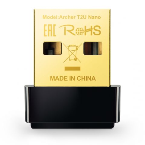 USB WIFI TP-LINK ARCHER T2U NANO DUAL BAND AC600
