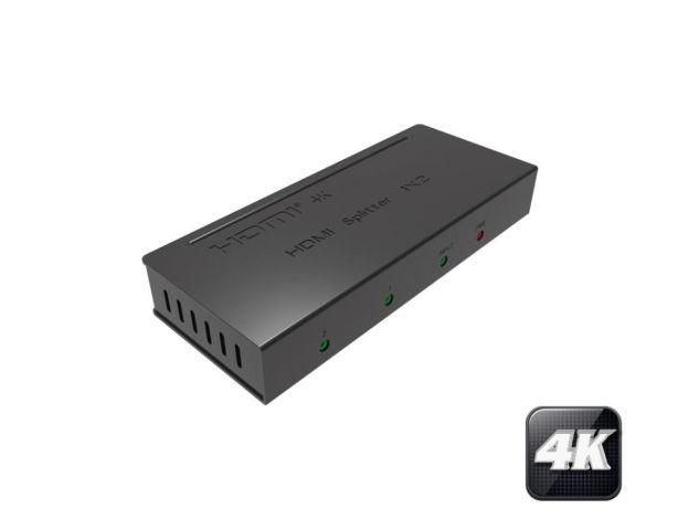 SPLITTER HDMI 4K 1 ENTR - 2 SORT HDCP