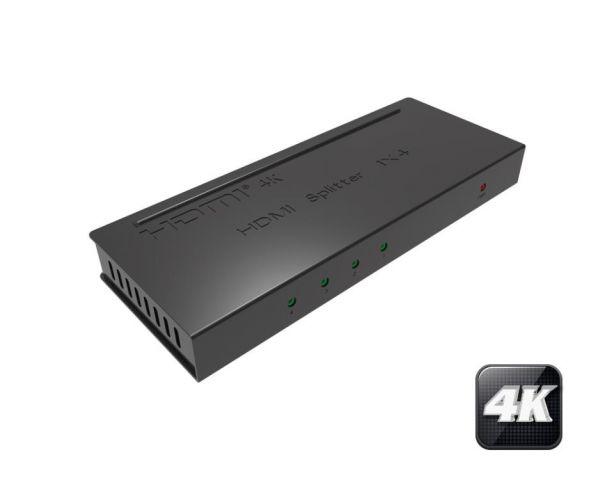 SPLITTER HDMI 4K 1 ENTR - 4 SORT HDCP