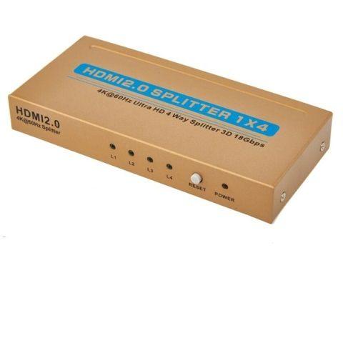SPLITTER HDMI 1 ENTRADA - 4 SORTIDES 4Kx2K/3D