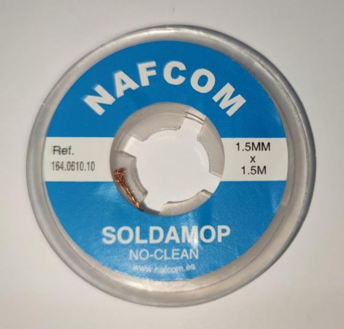 MALLA DESSOLDAR NO-CLEAN 1.5MMx1.5MTS