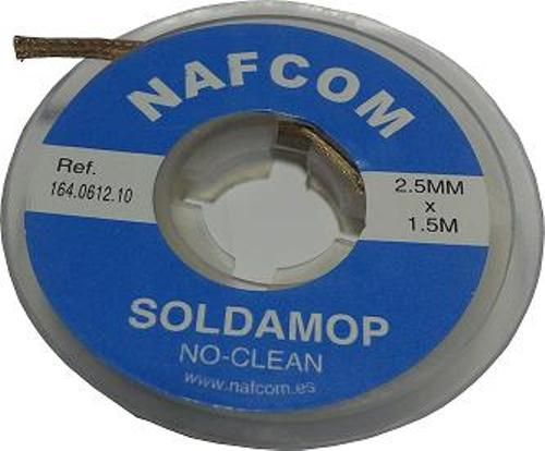 MALLA DESSOLDAR NO-CLEAN 2.5MMx1.5MTS