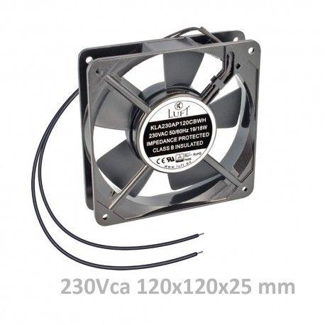 VENTILADOR 120x120x25 230V AC